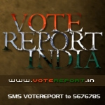 Vote Report India - Badge
