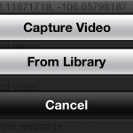 iOS Video Upload