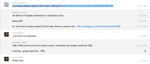 Verification - real time