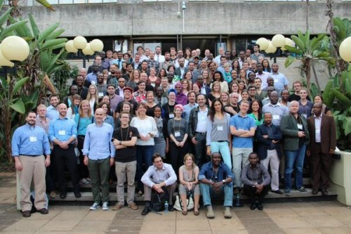 ICCM 2013 Group photo Credit: @crisismappers on twitter