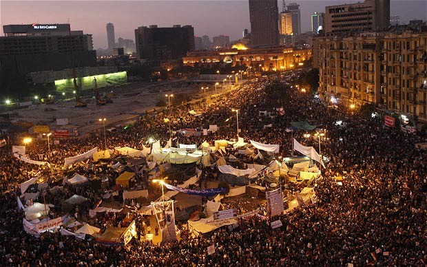 Tahrir Sqaure, Egypt during Arab Spring